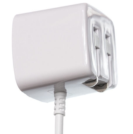 Apple Certified Wall Charger White Side