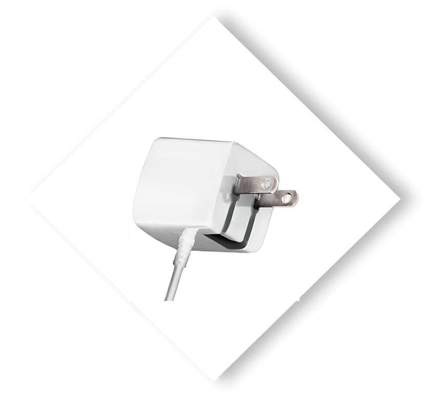 Apple Certified Wall Charger White 3ft