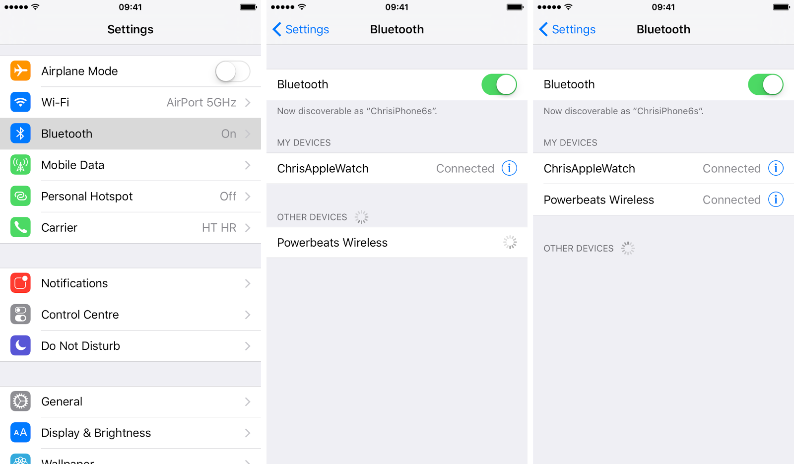 how to route iPhone calls Bluetooth screenshot 008